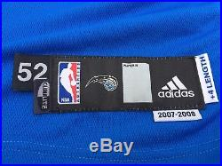 Dwight Howard Orlando Magic Game Worn Issued Adidas Home Jersey