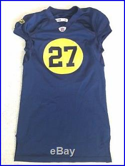 Eddie Lacy Green Bay Packers Team Issue Jersey Not Game Used Worn Throwback