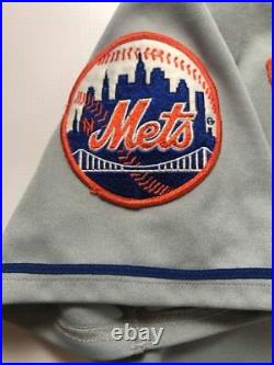 Edgar Alfonzo New York Mets 1996 Signed Game Issued Used Jersey