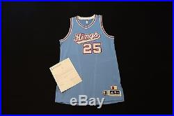 Eric Moreland NBA Sacramento Kings HWC Game Issued Authentic Jersey Meigray Kobe