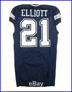 Ezekiel Elliot 2016 Rookie Dallas Cowboys Game Issue Prova Tag Jersey