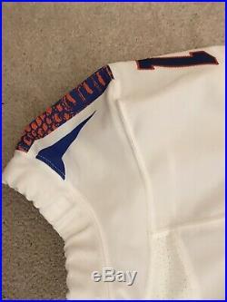 Florida Gators Nike Pro-Combat Alternate Authentic Game Issued Used Jersey sz 44