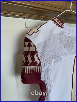 Florida State Seminoles Authentic Game Issued Jersey sz 44