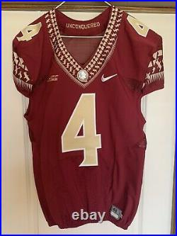 Florida State Seminoles Authentic Game Issued Jersey sz 46