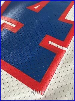 Frank Reich Buffalo Bills Game Issued Jersey Size 44 CUSTOM