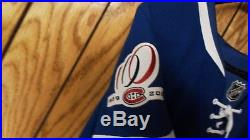 GAME ISSUED 1909-10 MONTREAL CANADIENS CENTENNIAL HOCKEY JERSEY SZ 58 O'Byrne