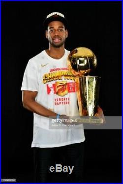 GAME ISSUED NBA 2019 CHAMPIONS! OVO JERSEY Toronto Raptors Jordan Loyd with COA