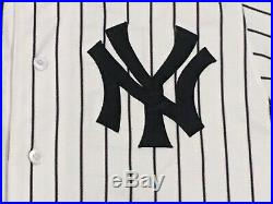 GRAY #55 size 44 2018 Yankees Game used jersey issued HOME POST SEASON MLB