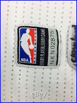 Game Issue Worn Porzingis Knicks 3XL +4 NBA Trikot Basketball Jersey
