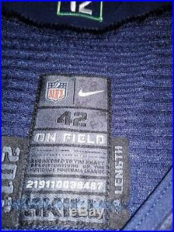 Game Issued 2013 Russell Wilson Jersey shows wear not game used read