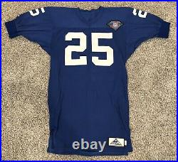 Game Issued Apex Durene New York Giants 1994 Throwback Jersey Sz 44 L