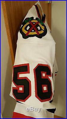 Game Issued Chicago Blackhawks Brent Sopel Jersey