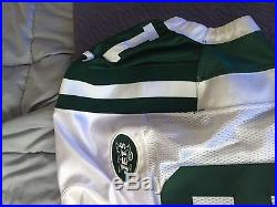Game Issued (Pro Cut) Keyshawn Johnson Jets Jersey Authentic Nike