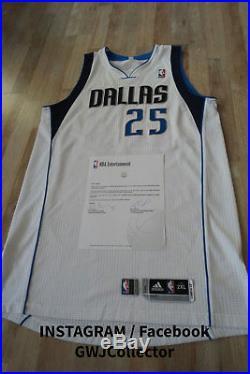 Game Issued Vince Carter Dallas Mavericks Jersey