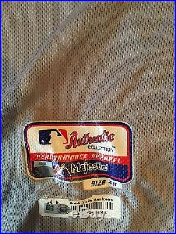 Game Issued/Worn Authentic New York Yankees Alex Rodriguez Jersey