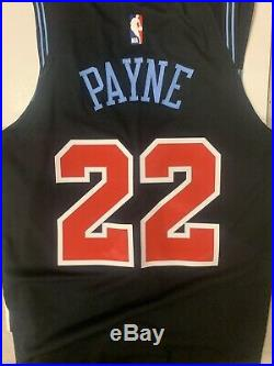 Game Issued / Worn Cam Payne City Jersey Chicago Bulls