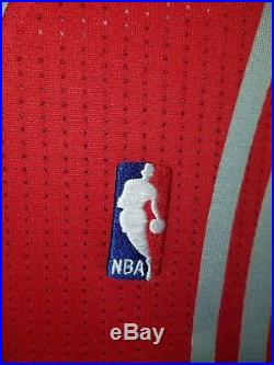 Game Issued/Worn KevinMartin 2012 Houston Rockets Jersey Size Large+2 Signed