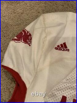 Game Used Felix Jones And Darren Mcfadden Issued Arkansas Razorbacks Jersey