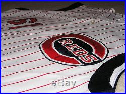 Game Worn 2009 Cincinnati Reds Civil Rights Jersey Team Issued Used Authentic