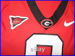 Game Worn/Issued AJ Green Georgia Bulldogs Jersey-Autographed-Bengals