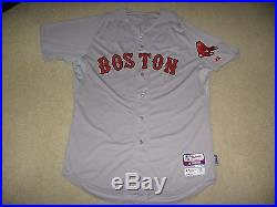 Game Worn/Issued Boston Red Sox Xander Bogaerts Jersey 2014