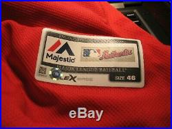 Game Worn/Issued Chris Sale Boston Red Sox Spring Training Jersey-2017