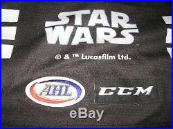Game Worn/Issued Dan Vladar Providence Bruins Star Wars Jersey