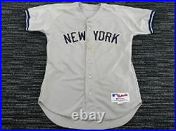Game Worn Issued Majestic #17 New York Yankees Jersey Size 44 Steiner