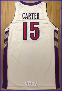 huge selection of 7e8ae 079e1 Game Worn Issued Vince Carter Toronto Raptors NBA Jersey ...