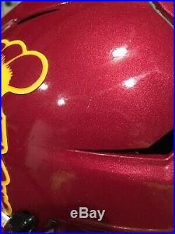Game Worn Ronald Jones USC Helmet Jersey Football Used Issued Buccaneers