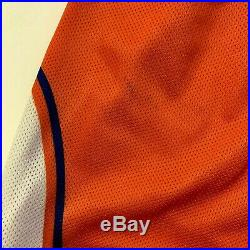 Game Worn Syracuse Orange 46 Nike Shorts 1994-1997 Team Issue Authentic Jersey