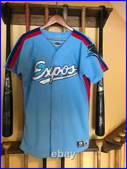 Game Worn/Used/Issued Vermont Expos Away Jersey #12
