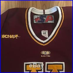 Game worn / Issued University of Minnesota Easton Hockey Jersey Golden Gophers 3