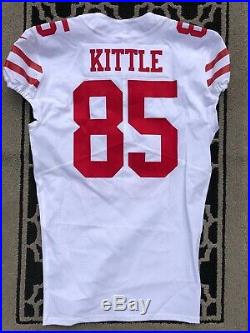 George Kittle San Francisco 49ers Game Issued Super Bowl LIV Jersey