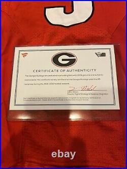 Georgia Bulldogs Game Worn / Issued Jersey #9