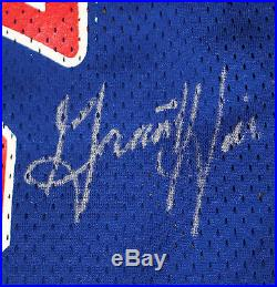 Grant Hill ROOKIE 94/95 Team Issued Signed DETROIT PISTONS Jersey Game Used 48