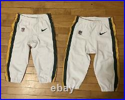Green Bay Packers COLOR RUSH Game Worn Used Pants Nike NFL Team Issued 32 OR 34