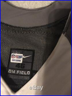 Greg Olsen Carolina Panthers Game Issued pro bowl jersey NFL COA Authenticity