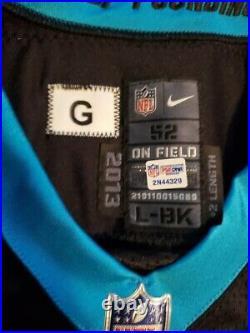 Greg Olsen Game Issued Jersey