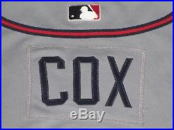 HOF Bobby Cox 2006 Atlanta Braves Game Used Jersey Issued Road Gray #6 MLB HOLO