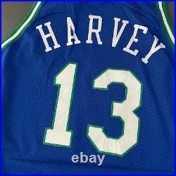 Harvey Champion 94 95 Mavericks Game Worn Used Issued Jersey jason kidd