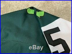 Hershey Bears St Patricks Day Specialty Game Issued Goalie AHL Authentic Jersey