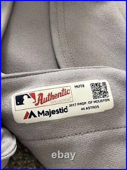 Houston Astros TBTC 2017 1999 Juan Centeno Game Used Team Issued Jersey Filthy