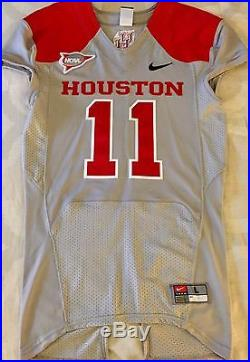 low priced 63b46 b9e3a Houston Cougars Mens Football Game worn/issued 2012 ...