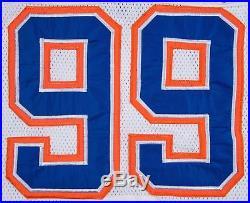 Incredible 1986 Wayne Gretzky Signed Game Issued Edmonton Oilers Jersey BAS COA