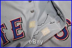 Ivan Pudge Rodriguez Game Used Jersey Issued Worn Rangers Future HOF