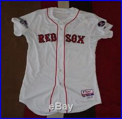 ... Jacoby Ellsbury Team Game Issued Un Worn 2013 Boston Red Sox Jersey  World Series ... 6e71108f3bd