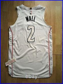 JOHN WALL Washington Wizards Nike game issued pro cut jersey authentic jordan 48
