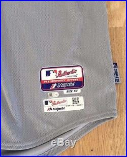 JON LESTER GAME USED WORN ISSUED CHICAGO CUBS ALT JERSEY 2015 MLB HOLOGRAM RARE
