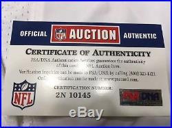 Jacksonville Jaguars NFL Marcedes Lewis Signed Game Issued/Used Jersey PSA/DNA
